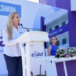 "Inauguró alcaldesa Alma Laura Amparán, Clínica ""eSalud"""