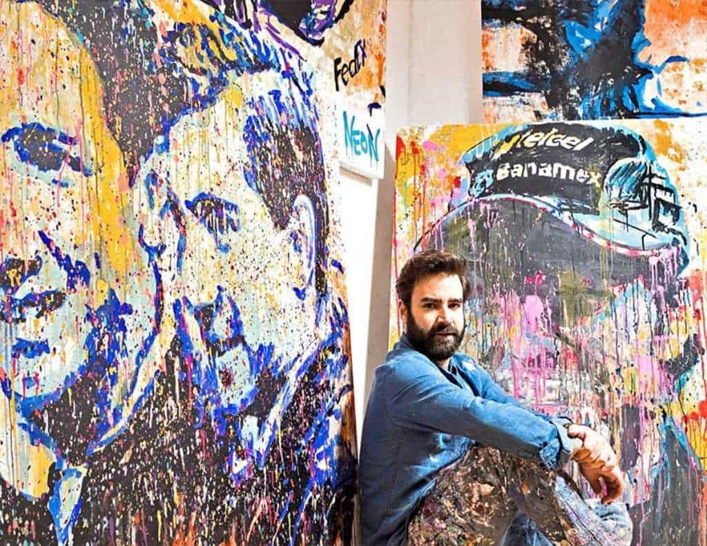 Obras de arte cobran vida en realidad aumentada de Neon Caron