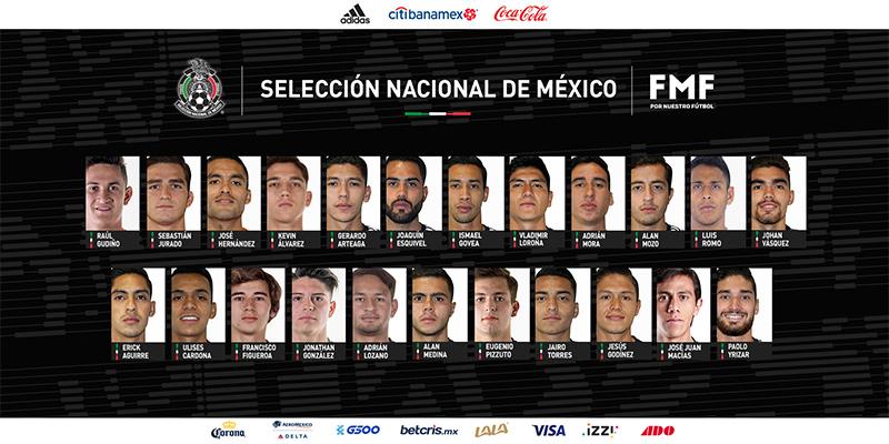 Dan a conocer lista de jugadores convocados por Gerardo Martino