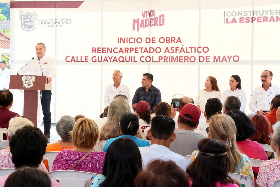 Gobierno de Adrián Oseguera da resultados a las familias maderenses