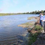 Inspecciona Adrián Oseguera Rescate del Sistema Lagunario