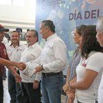 Reconoce Oseguera Labor de Bomberos en Ciudad Madero