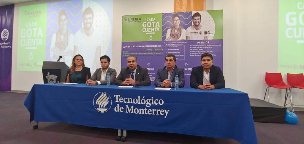 Lanzan el Heineken Green Challenge en el Tec de Monterrey Campus Tampico