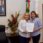 Designa Alma Laura Amparán a nuevas directoras de Atención a la Mujer y Cultura