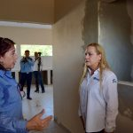 Supervisa Alma Laura Amparán construcción de Velatorio Municipal