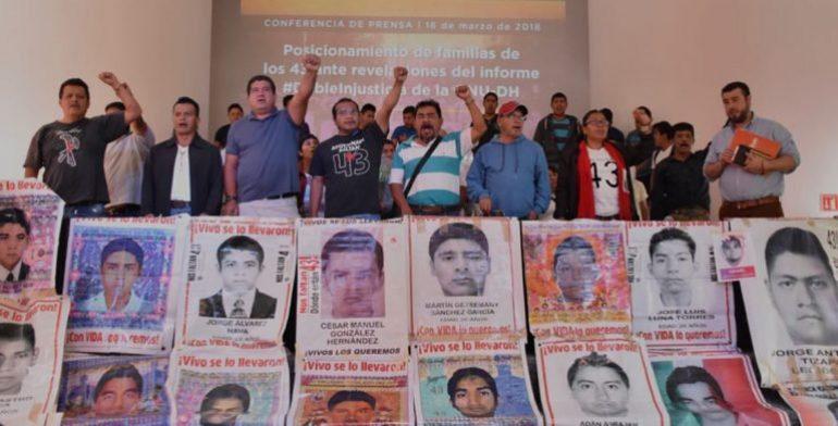 Actuarán contra quienes han incumplido funciones en caso Ayotzinapa