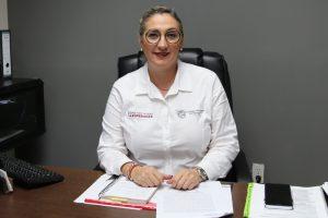 Claudia Mendia Caballero, directora de Ingresos de Madero