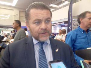 Fernando Olivera Rocha, secretario de Turismo de Tamaulipas