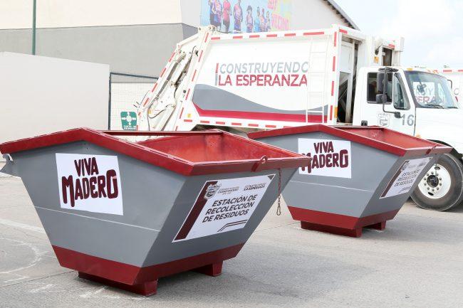 Progresa Madero como un Municipio eficiente en mitigación de basura