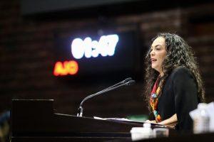 Diputada Federal, Olga Sosa Ruiz.