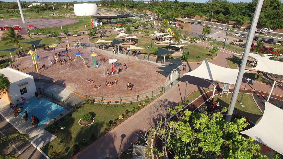 Ofrece Parque Bicentenario atractivos a las familias maderenses