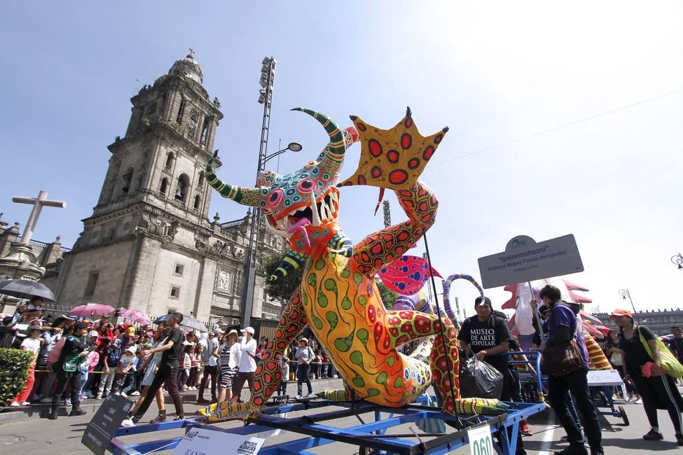 Se llevó a cabo el Desfile de Alebrijes 2019 en las calles de la Ciudad de México