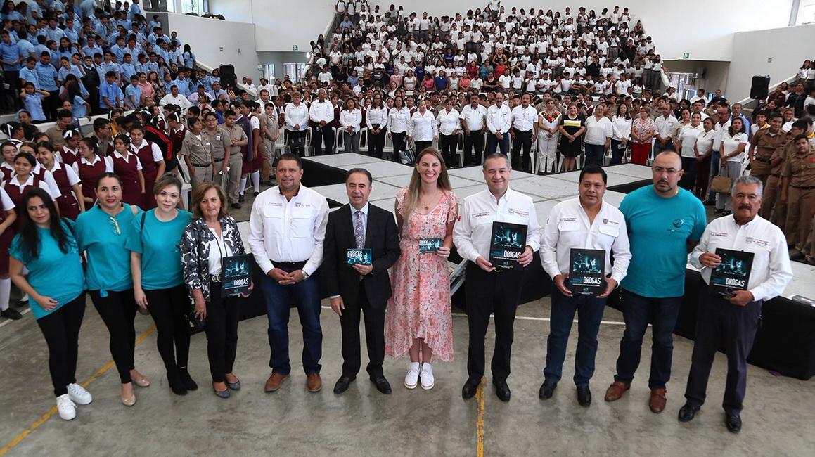 Construye Adrián Oseguera un municipio libre de adicciones