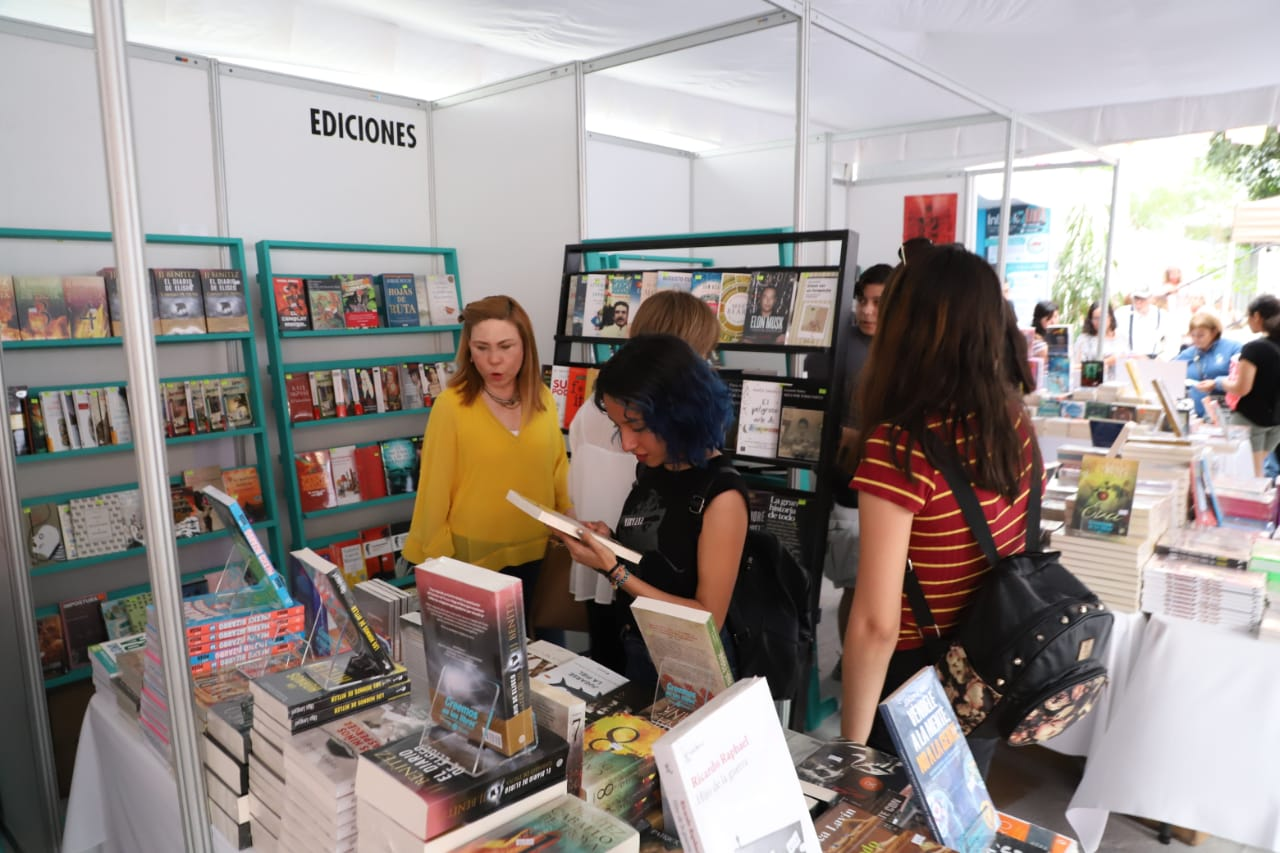 Inauguran Feria Internacional del Libro Infantil y Juvenil Reynosa 2019