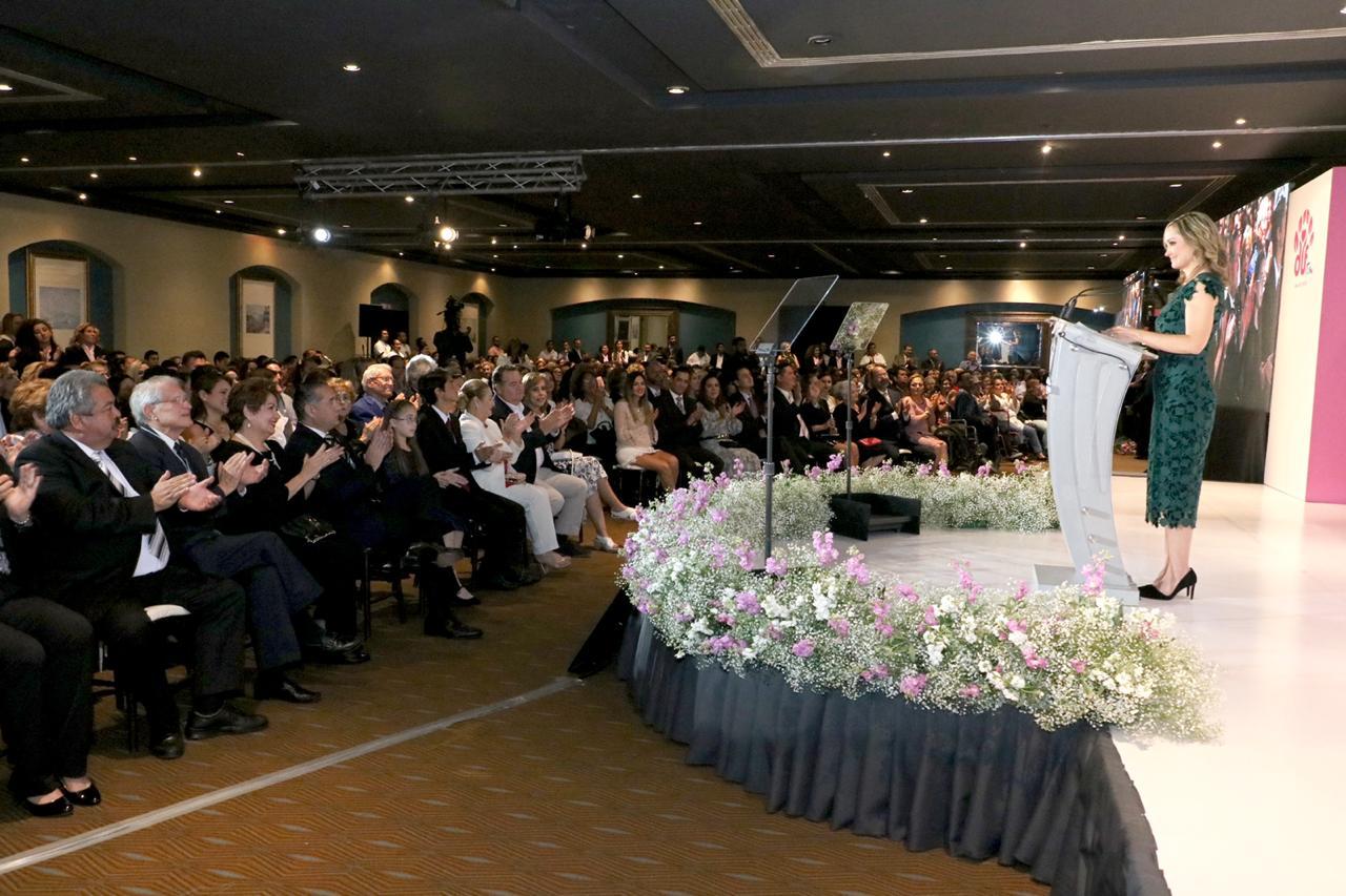 Rinde presidenta del Sistema DIF Madero, Primer Informe de Actividades