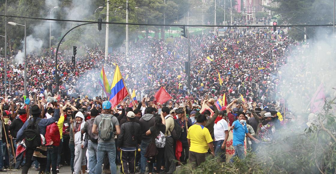Tras disturbios, Gobierno de Ecuador impone toque de queda parcial