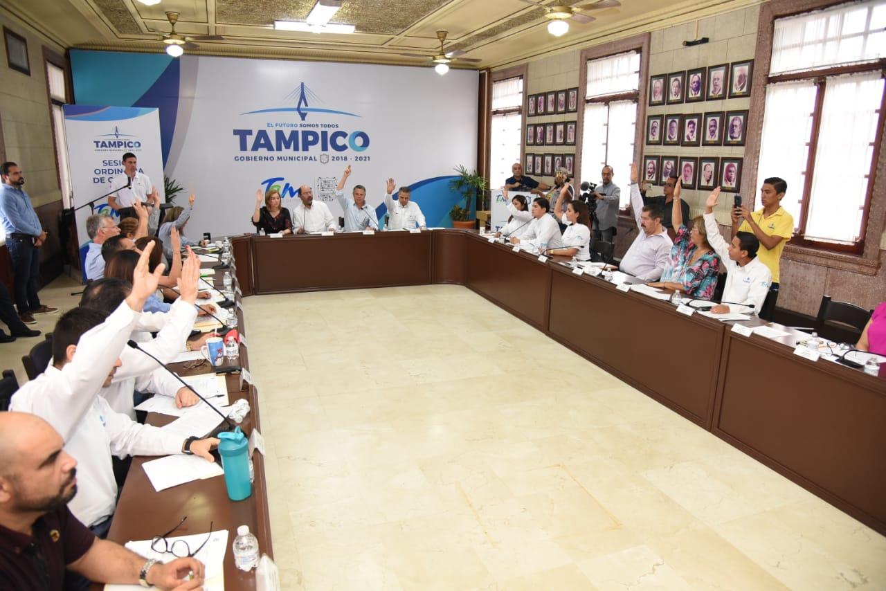 Aprueba Cabildo de Tampico Presupuesto de Egresos para 2020