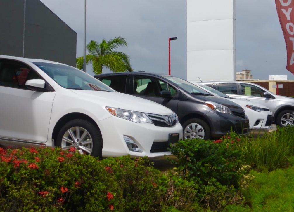 Caen 10% ventas de autos nuevos en zona sur