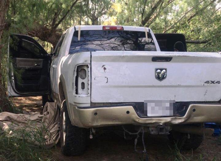 Aseguran 6 camionetas con blindaje en la frontera de Tamaulipas