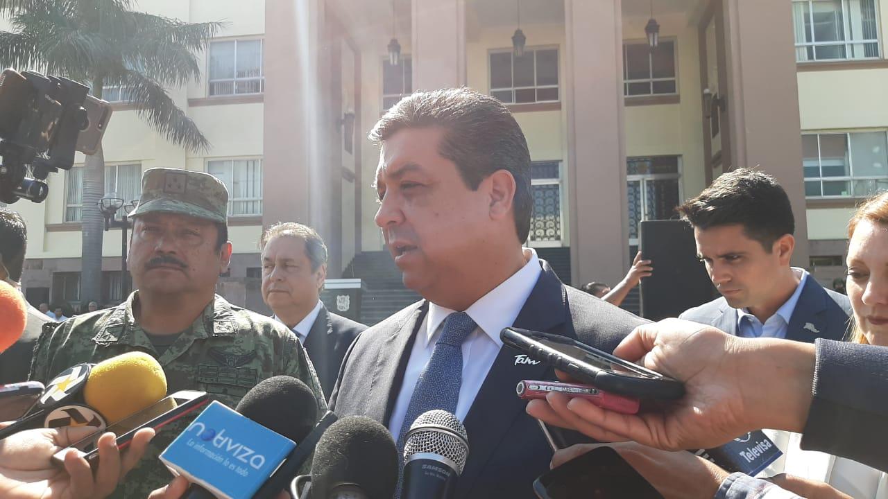 Tamaulipas sigue peleando presupuesto: Gobernador
