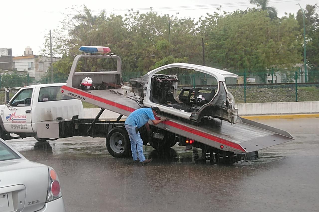 Inició Ciudad Madero operativo para levantar carros chatarra
