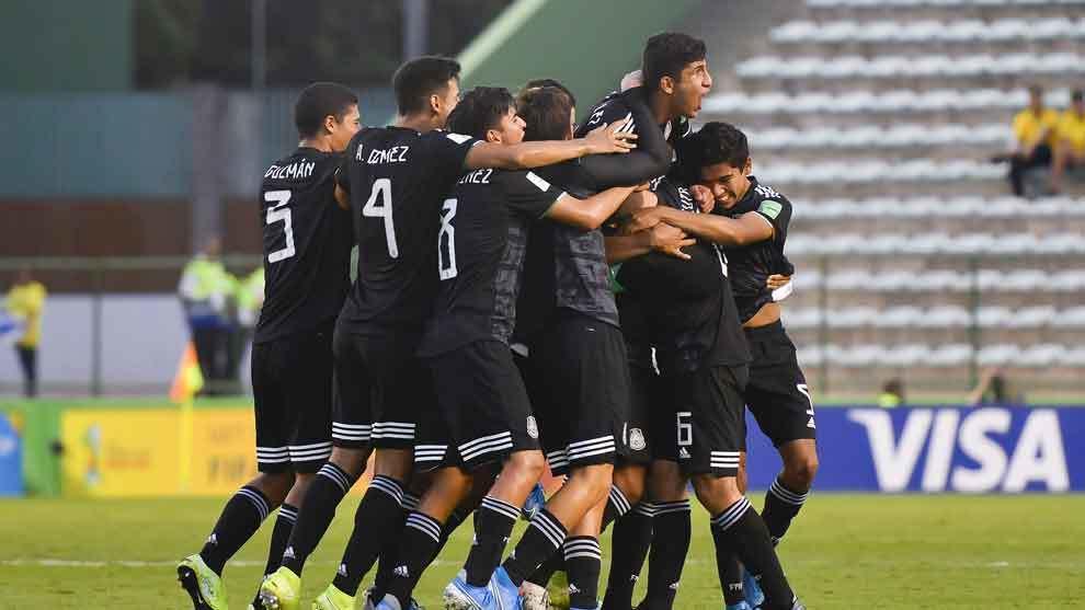 México sale airoso en penales ante Holanda y es finalista Sub 17
