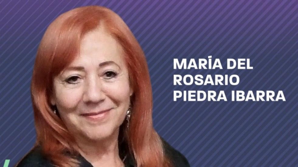 Senado elige a Rosario Piedra Ibarra como nueva titular de la CNDH