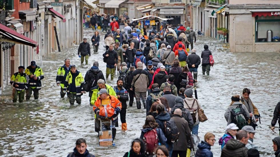 Venecia se prepara para nueva inundación y pide ayuda a Europa