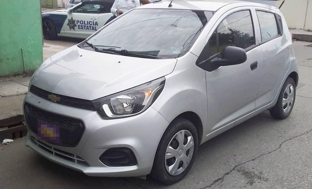 Detienen a sospechoso por auto con reporte de robo en Tampico