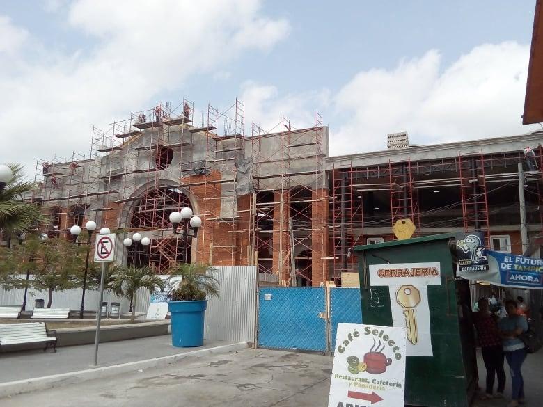 Seguirá reubicación de comerciantes en Tampico