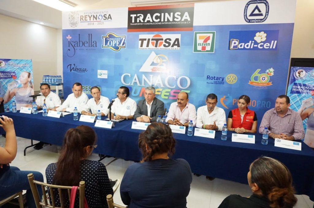 Anuncian CANACO y Gobierno Municipal 'Run 5K y 10K'