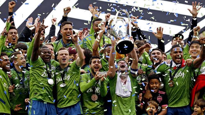 Seattle Sounders consigue su segundo título en su historia en la MLS