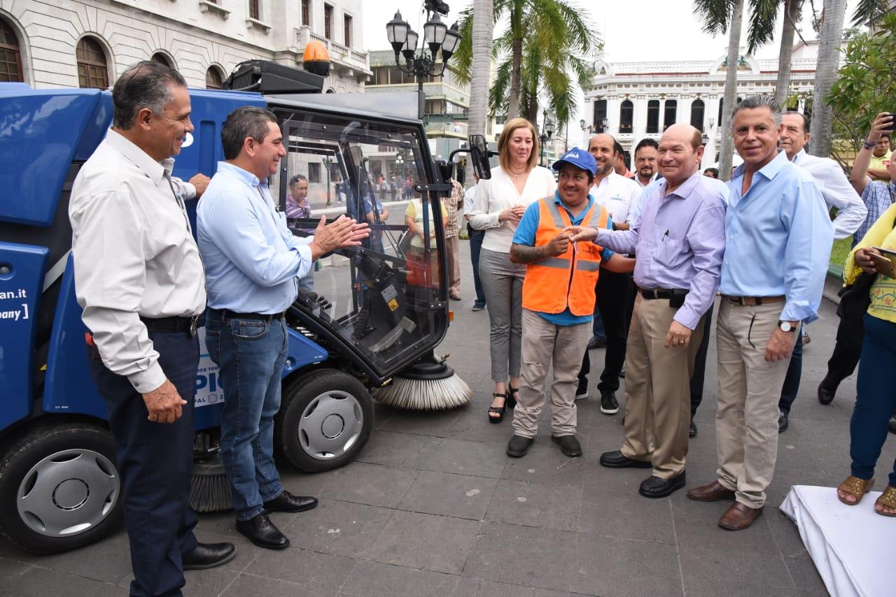 Tampico, Referente de Orden y Limpieza a Nivel Nacional: Chucho Nader