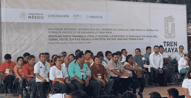 Inician asambleas con pueblos indígenas por Tren Maya