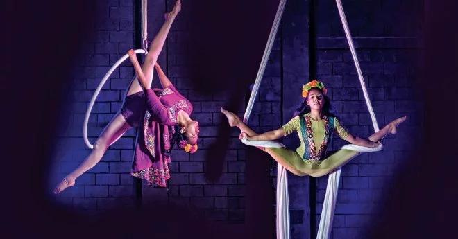 Circo contemporáneo en el Festival Internacional Escenarios Suspendidos