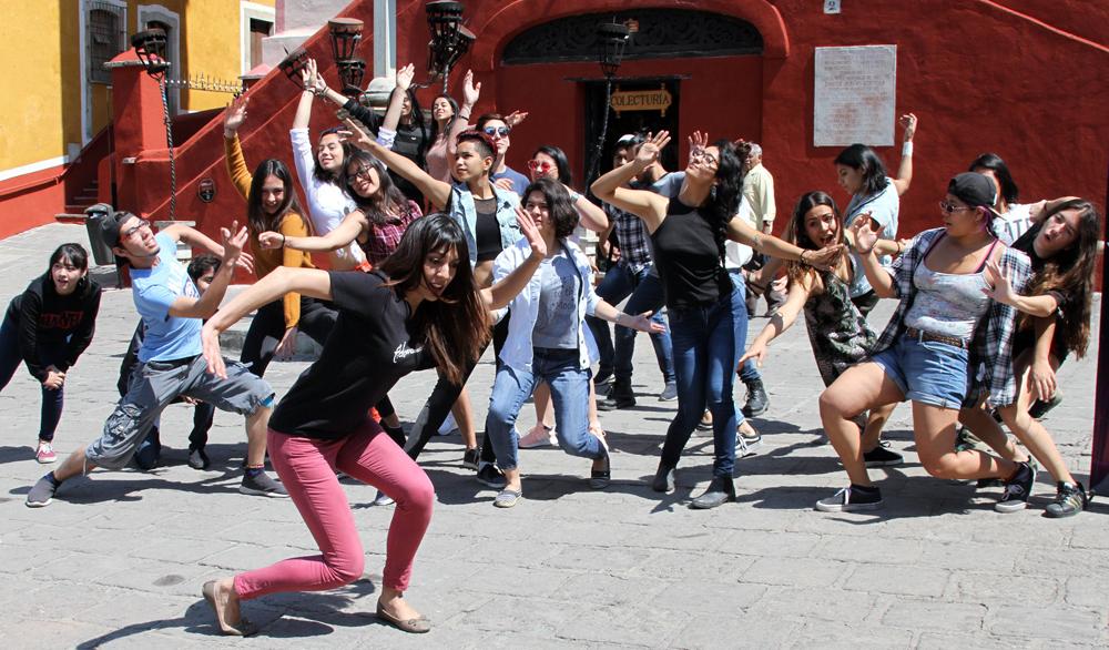 Segundo Fidanza en las calles de Guanajuato