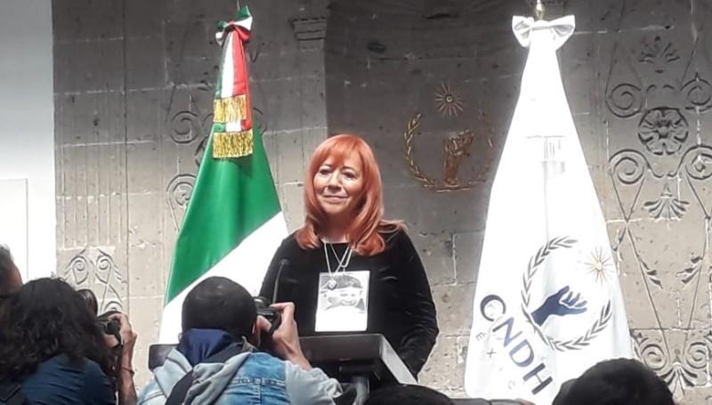 Rosario Piedra anuncia austeridad bajo su gestión en la CNDH