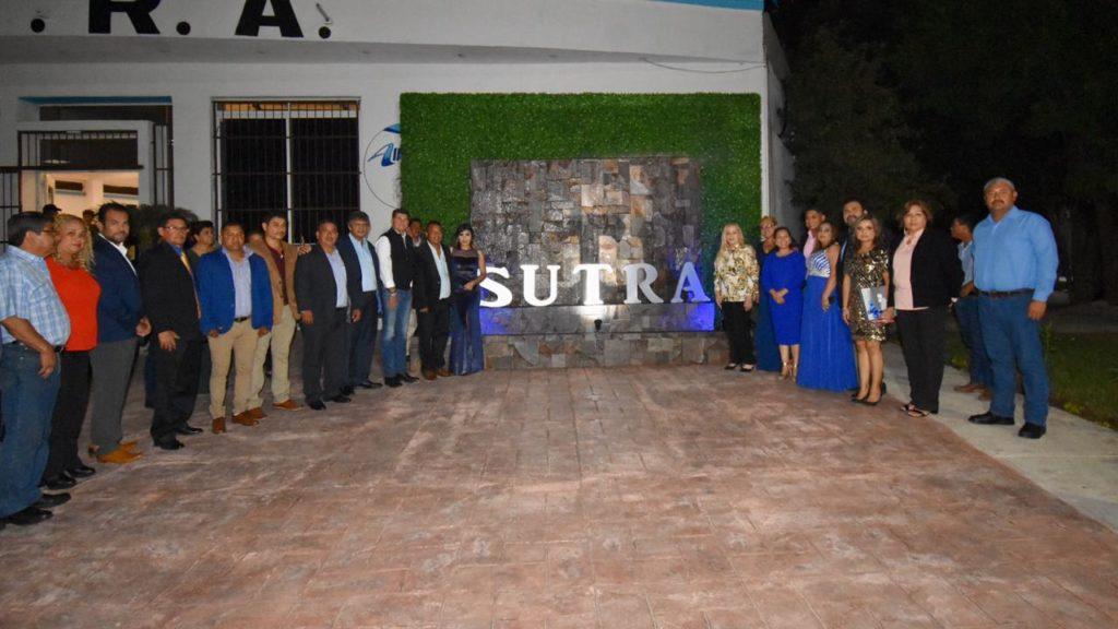 Refrendan trabajadores del SUTRA respaldo al Gobierno de Alma Laura Amparán
