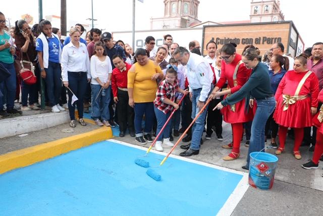 Impulsa Madero acciones de respeto hacia personas con discapacidad