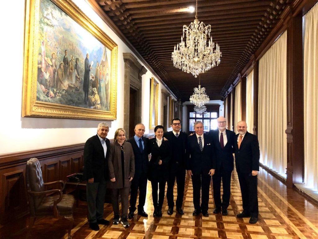Sostienen reunión empresarios de Tamaulipas con Alfonso Romo