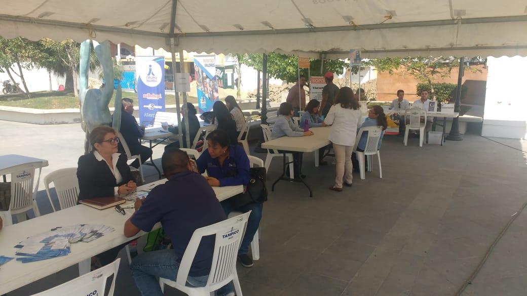 Desairan la Feria del Empleo en Tampico
