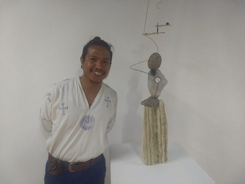 Gerardo K'ulej las ciencias moderna y maya en el arte
