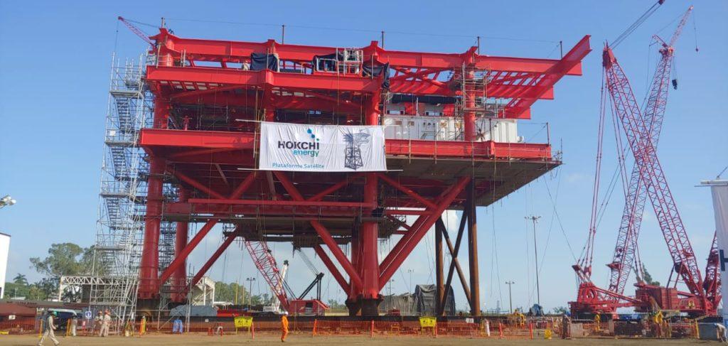 Construyen 2 plataformas para Hokchi Energy