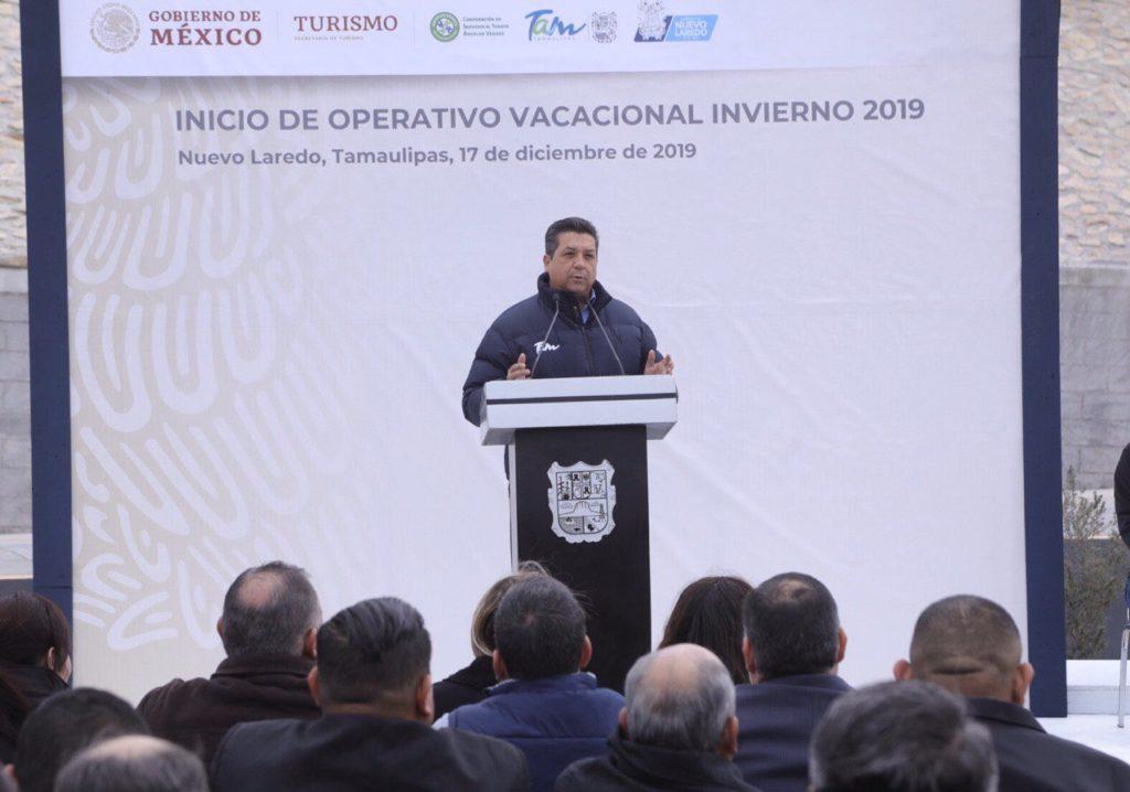 Asegura Gobernador que Tamaulipas será el estado más seguro del país