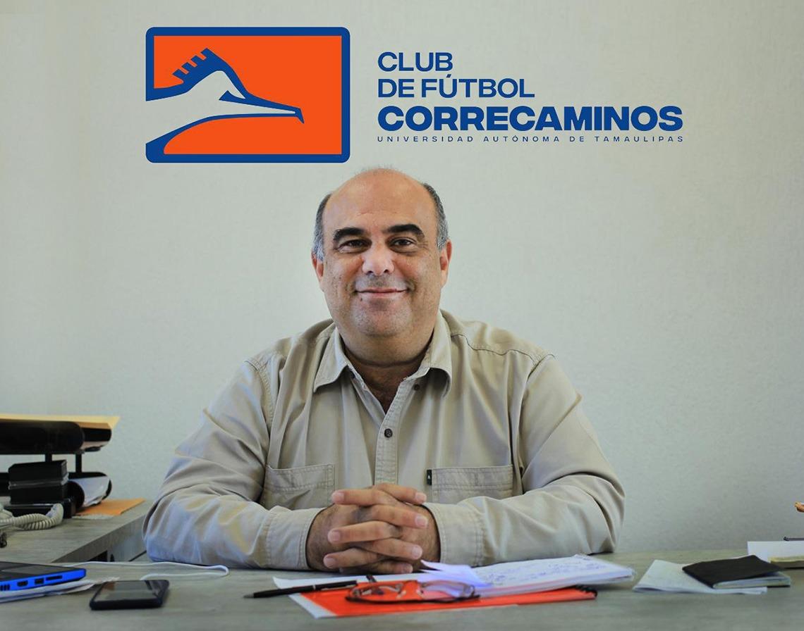 Ratifican a Miguel Mansur como presidente del Club de Futbol Correcaminos de la UAT