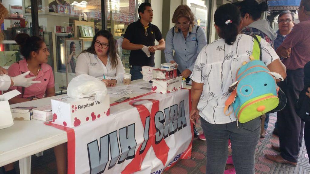 Aplican en Tampico pruebas rápidas para detectar VIH