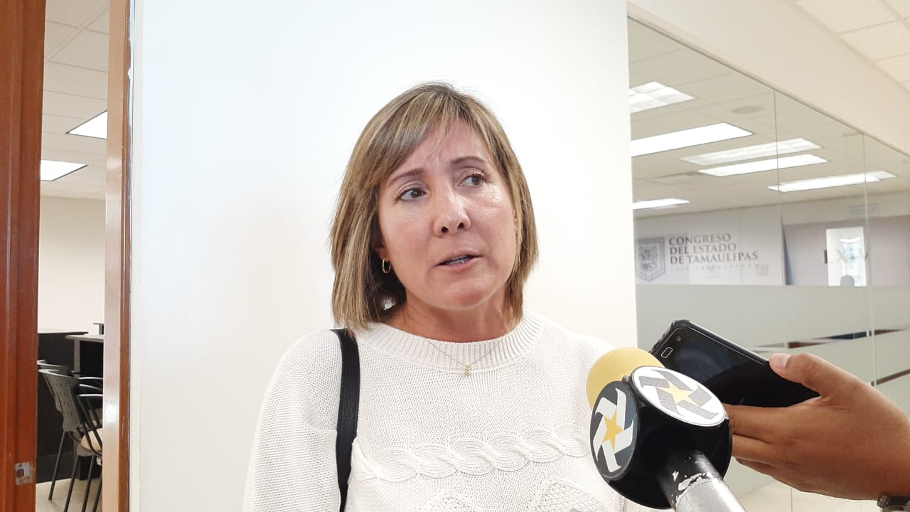 Ha disminuido violencia en Tamaulipas: Rosa Glz Azcárraga