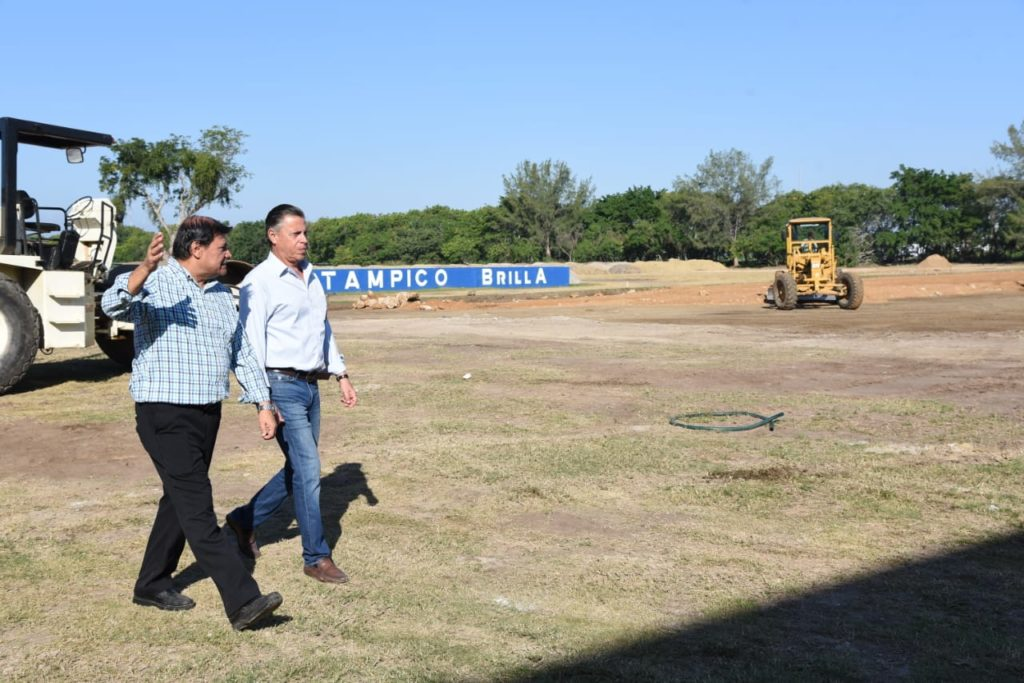 Modernizan en Tampico Espacios para la Convivencia y el Desarrollo del Deporte