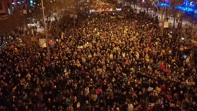 Inicia la gran marcha por el clima en Madrid
