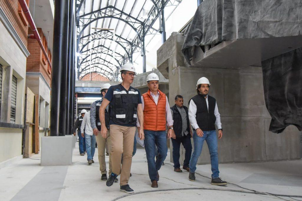 Constata trabajos finales en mercados de Tampico el alcalde Chucho Nader